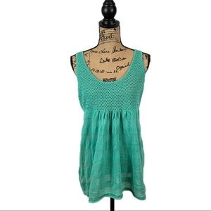 Tommy Bahama Knit And Stripped Sleeveless Tank Top